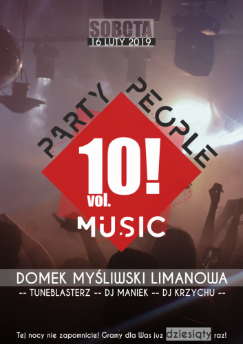 Party people musik 10!